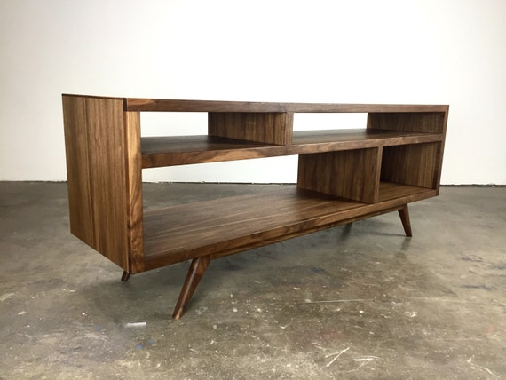 The Bacon A Mid Century Modern Tv Console Tv Etsy