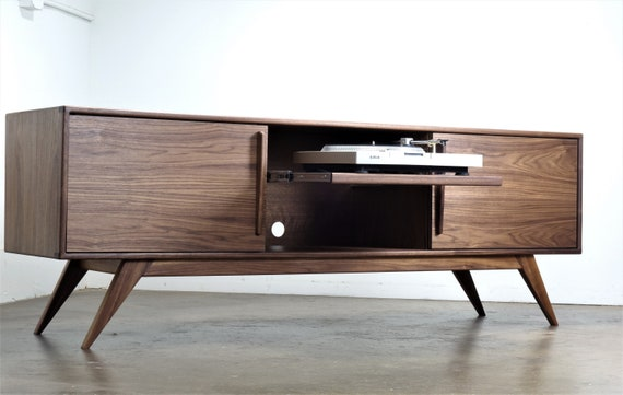 Danish Modern Tv Credenza : A mid century modern credenza great for tv or record player and in