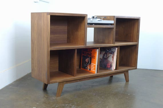 the cloud9 is a mid century modern stereo console etsy