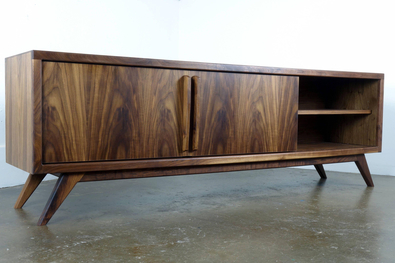 Danish Modern Tv Credenza : Sold rosewood midcentury danish modern vintage credenza cabinet