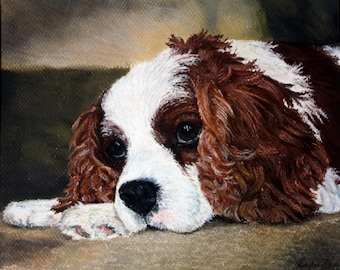 CUSTOM Soft Pastel Pet Portraits from Photo