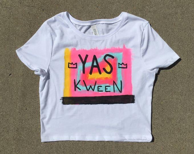Yas Kween Broad City Crop Top Tee