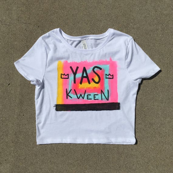 Yas Kween Broad City Crop Top Tee