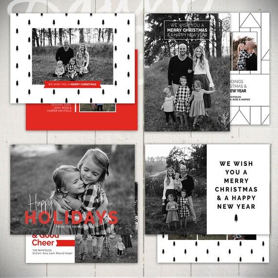 photoshop christmas cards templates