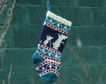 small christmas stocking nativity scene christmas sock fair etsy