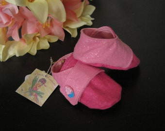 Pink Contrast Cupcake Shoes A