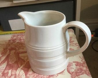 Medium vintage milk pitcher