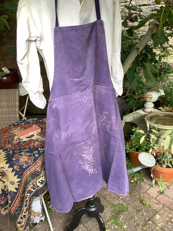 Distressed vintage artisan apron
