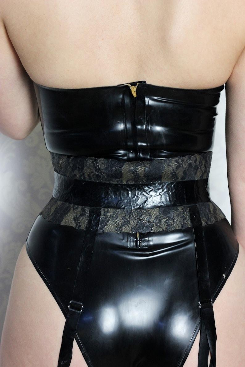 Satin Corset Bodysuit/Leotard/Bunnysuit | Etsy