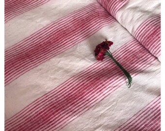 Vintage European linen fabric