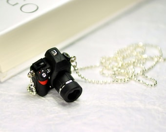 Nikon D800 DSLR Camera miniature necklace
