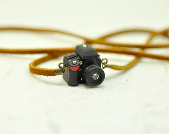 Nikon D7100 DSLR Camera miniature necklace