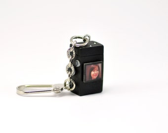 Personalized Keyring Rolleiflex Camera miniature / personalized gift /personalized keyring