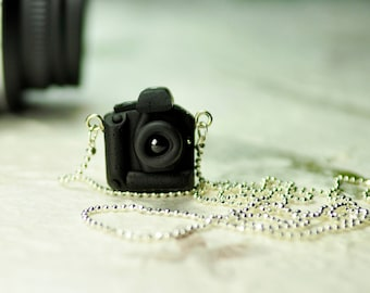 Canon 1Ds DSLR Camera miniature necklace