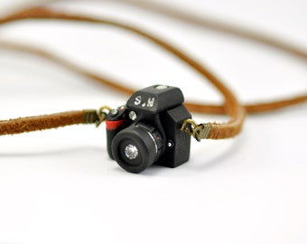 Personalized(Initial) Nikon D5300 Camera miniature necklace