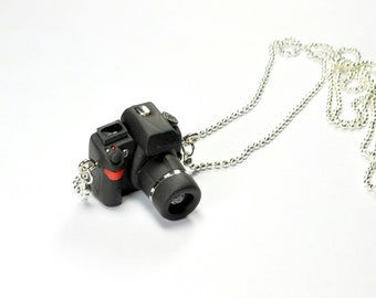 Nikon D7000 Camera miniature necklace