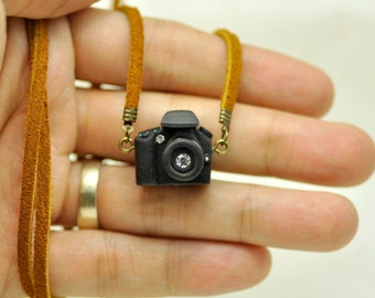 Canon 70D Camera miniature necklace