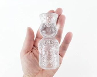 Vintage Candlestick Art Glass King Figure Designed by Bjorn Wiinblad for German Rosenthal Studio Line