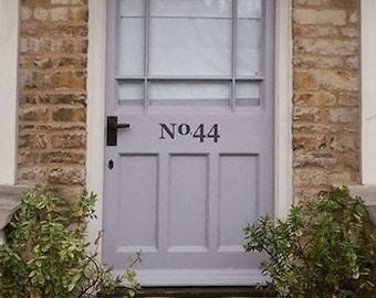 Front Door Number Decal - Door Decal - Street Number Door Decal - House Address Number Door Decal