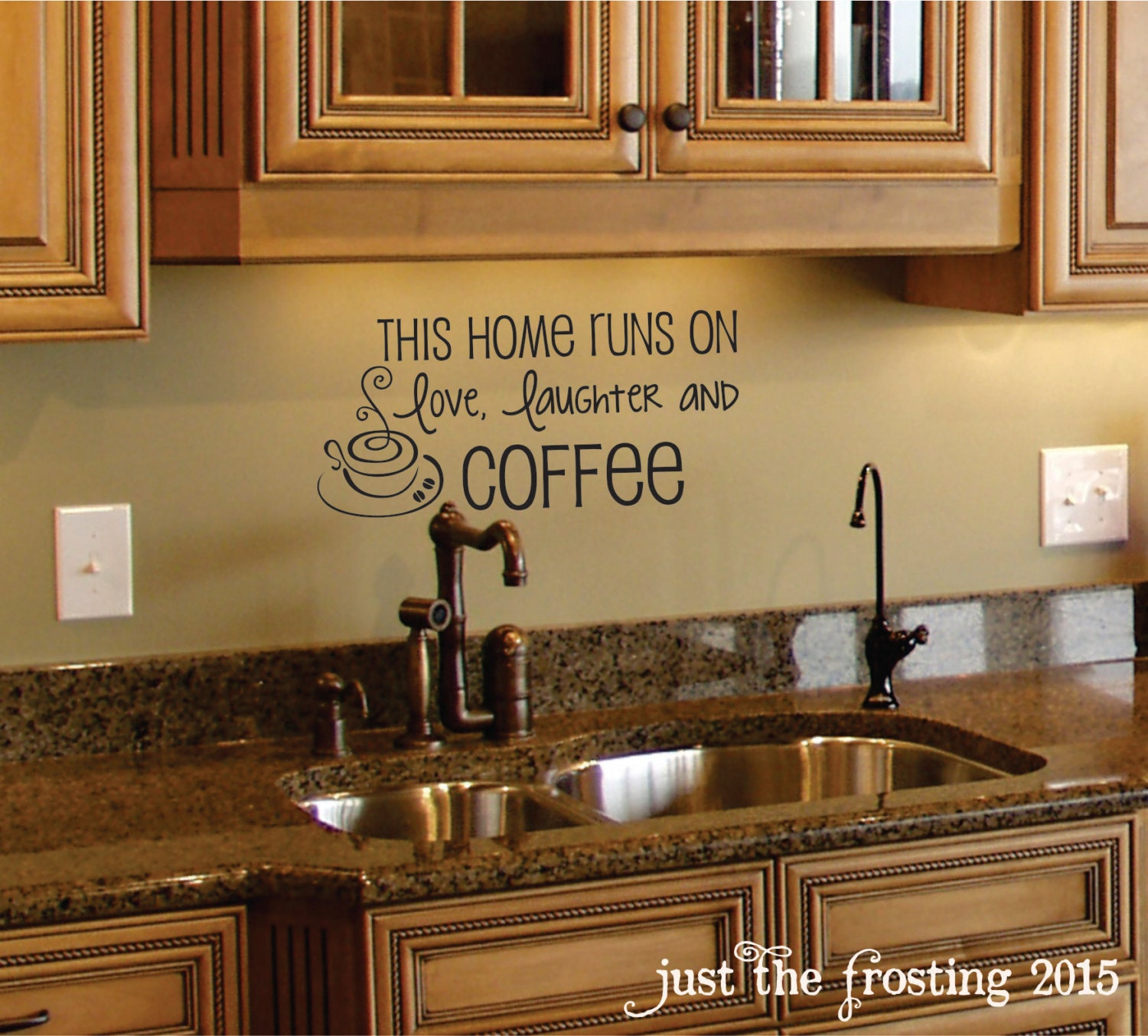 Kitchen Decorating Accessories: Coffee Wall Decal Coffee Decor Kitchen Wall Decal