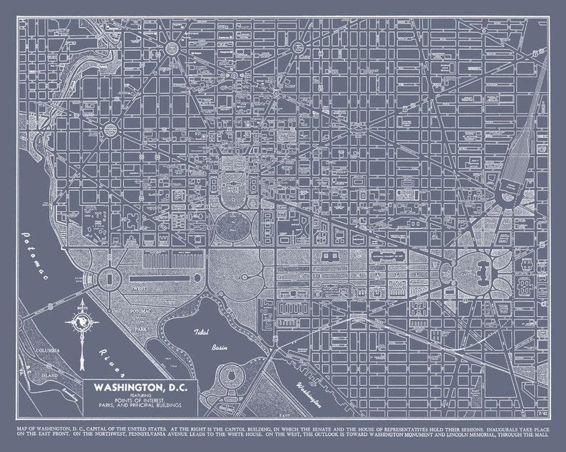 on dc street map