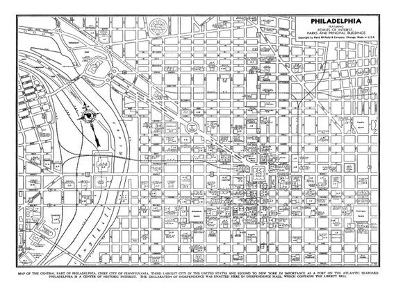 It is a picture of Printable Maps of Philadelphia inside copyright free