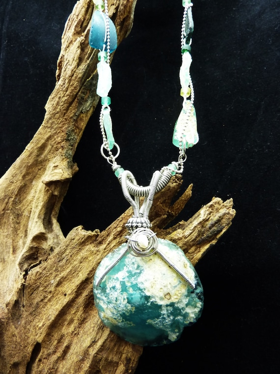 Roman Glass Beads and Pendant, Make a Perfect Ancient Statement!