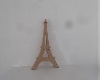 Eiffel tower decor, Eiffel tower hard cardboard or wood, Eiffel tower wall decor