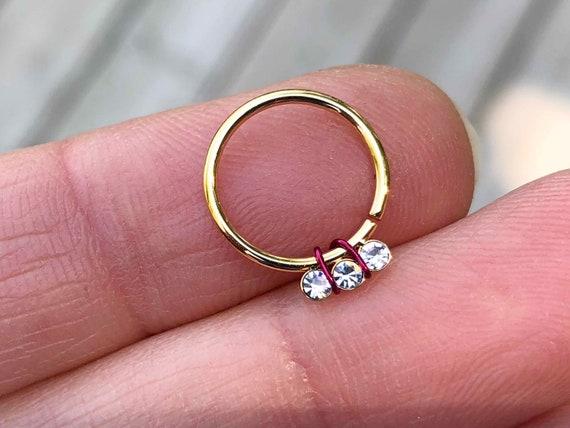 crystal septum ring