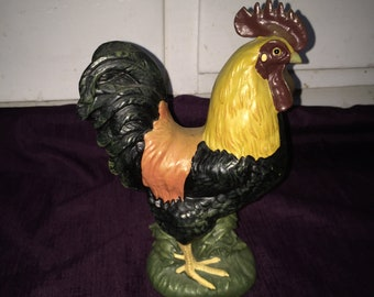 Rooster figurine | Etsy
