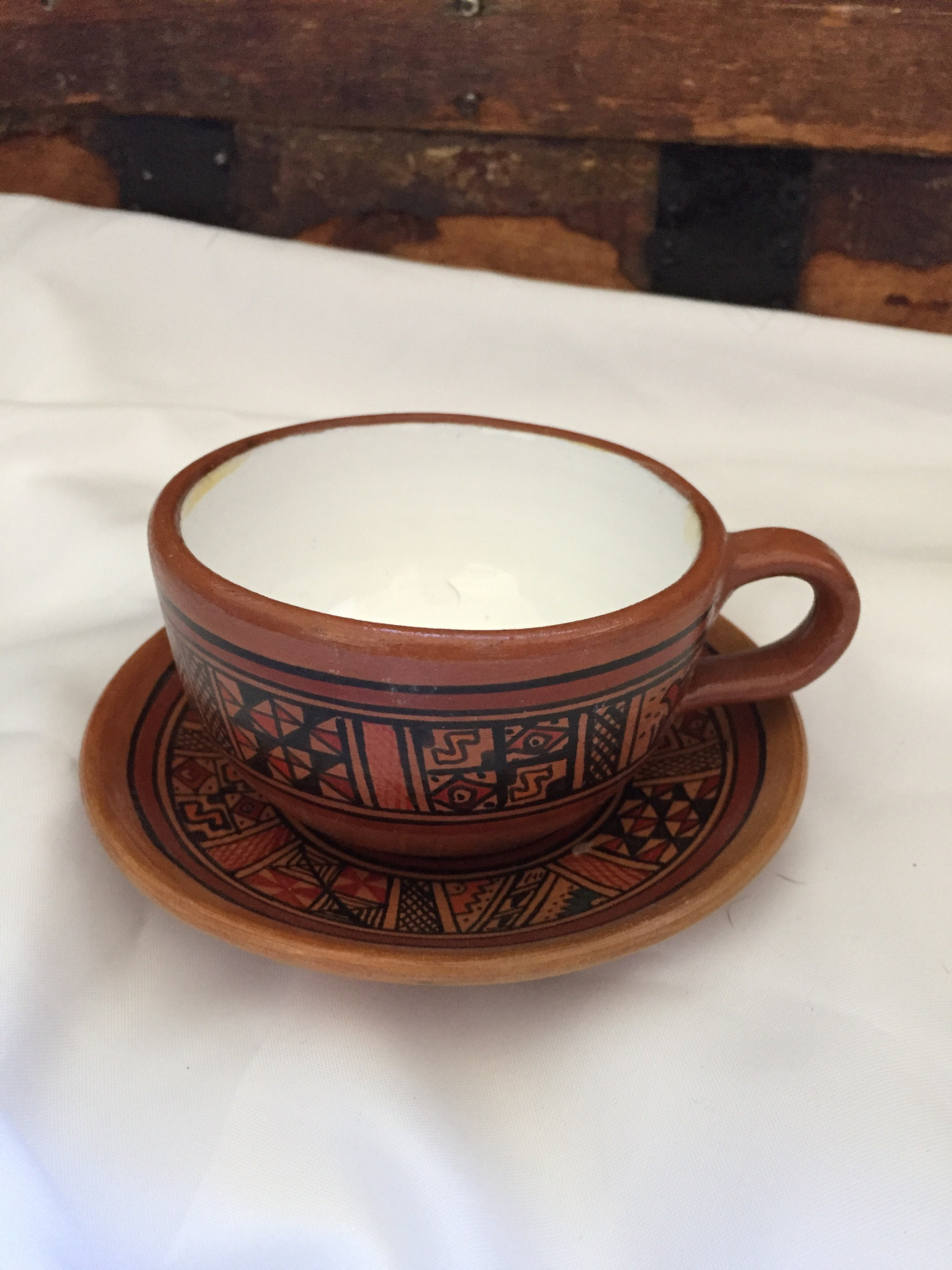 Tea Cup and Saucer FREE SHIPPING