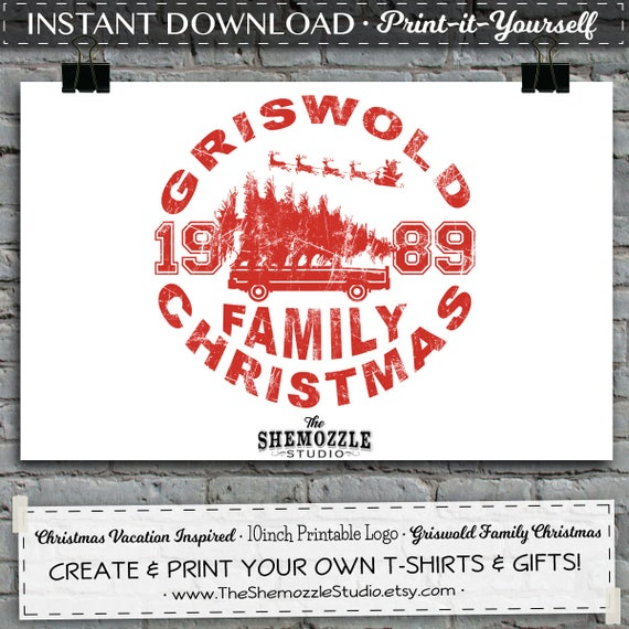 Christmas vacation inspired gifts