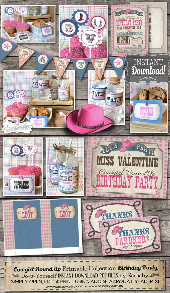 Cowgirl Party Collection