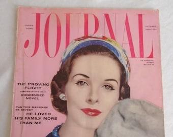 Vintage 1956 Ladies Home Journal MCM Ads Fashion, Articles, Fiction Housewares