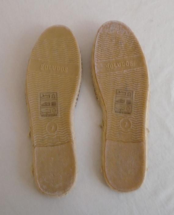 Vintage 1990s Shoes Brown Suede Mules Women's Sum… - image 3