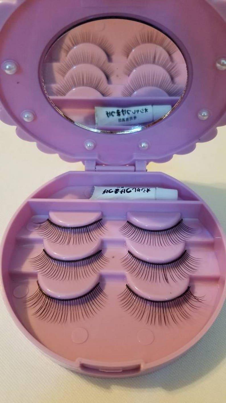 Cute Mirrored Eyelash Case