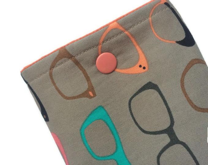 Eyeglass Case - Gift for Mom - Eyeglasses Pouch - Teacher Gift - Gift for Reader