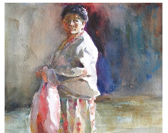 Mapuche Woman of Temuco