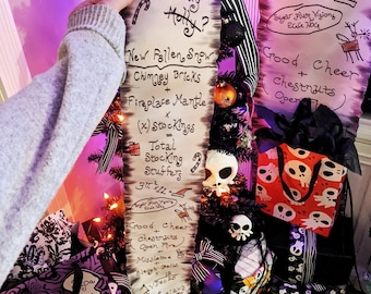 Haunted Mansion Holiday Nightmare Before Christmas Jack's List