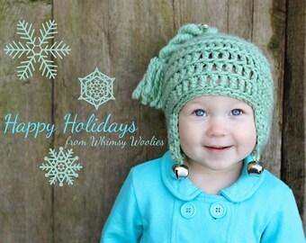 Christmas Crochet Hat Pattern: 'Jingle Bell Rock'