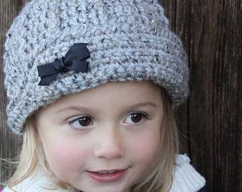Crochet Hat Pattern: Boys/Girls Hat, Crochet Beanie, Newborn to Child
