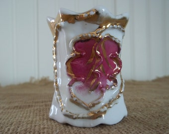 Toothpick Holder, Ornate, Victorian, Collectible,