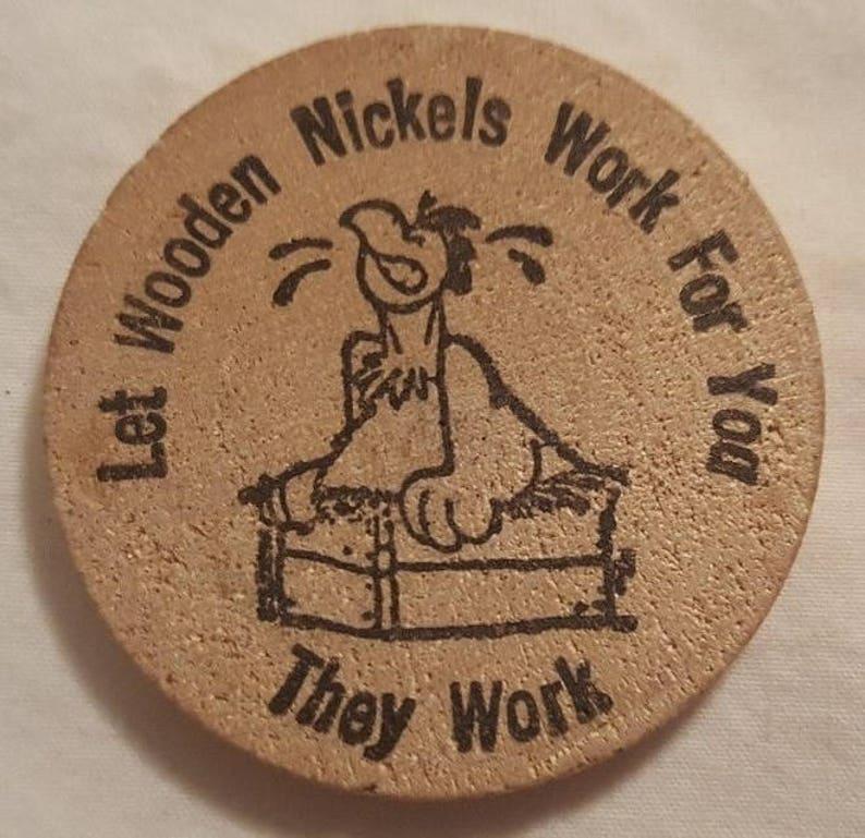 Wooden Nickel Advertising Wooden Nickels