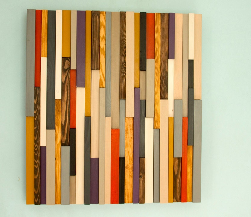 Wood Wall Art Sculpture 3d Abstract Wood Sculpture Reclaimed Wall