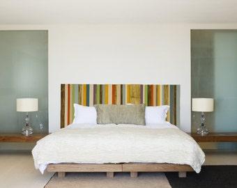 Modern Headboard Reclaimed Wood Furniture, custom sizes
