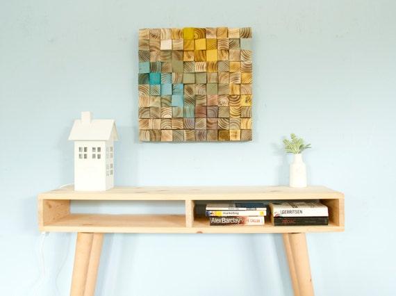 Arte De Pared De Madera Arte De Madera Mosaico Arte Pared