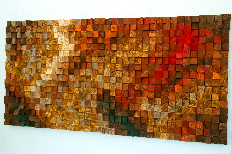 Reclaimed Wood Wall Art Trending Now 3d Wood Art Wood Wall