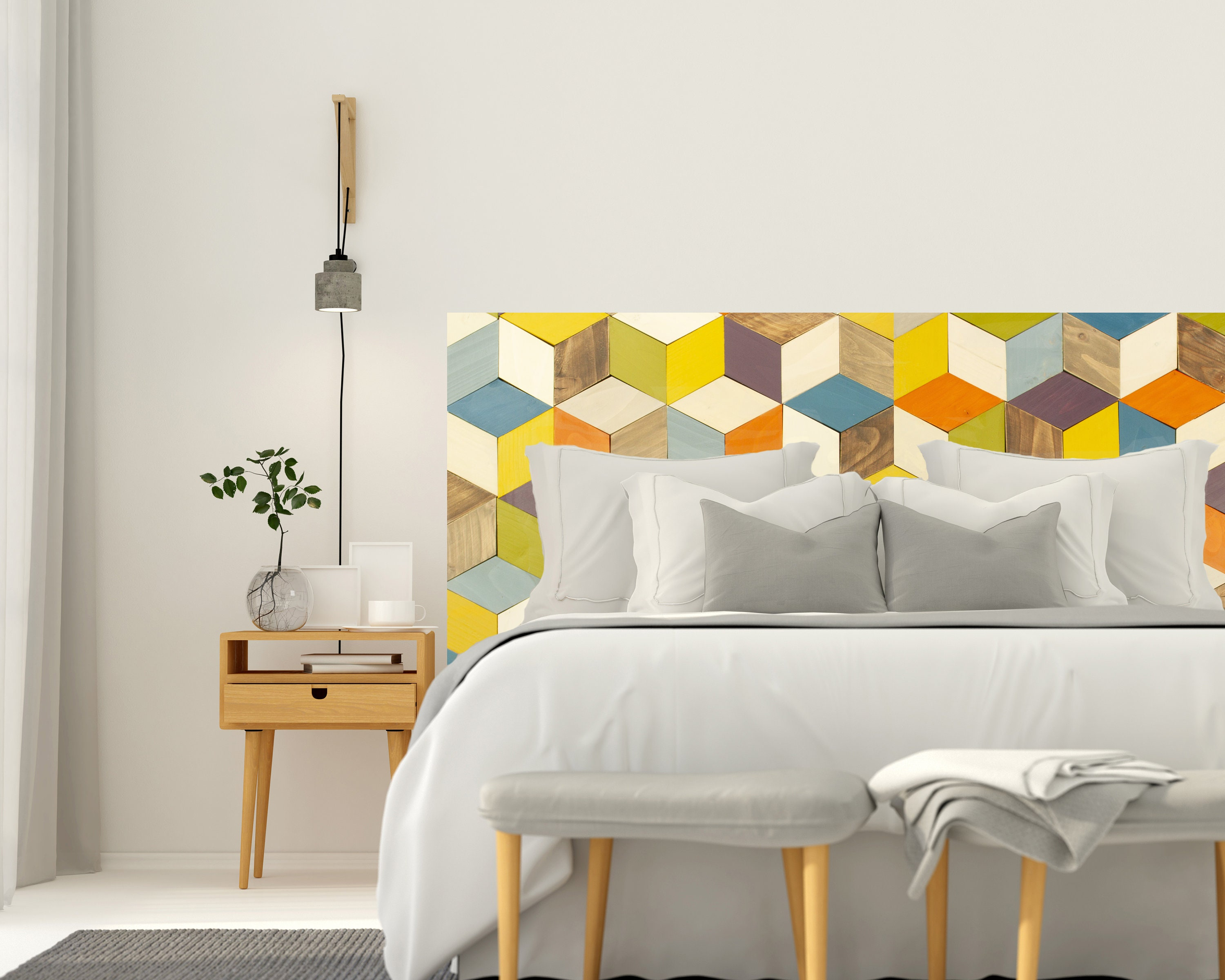 Image result for pattern headboard