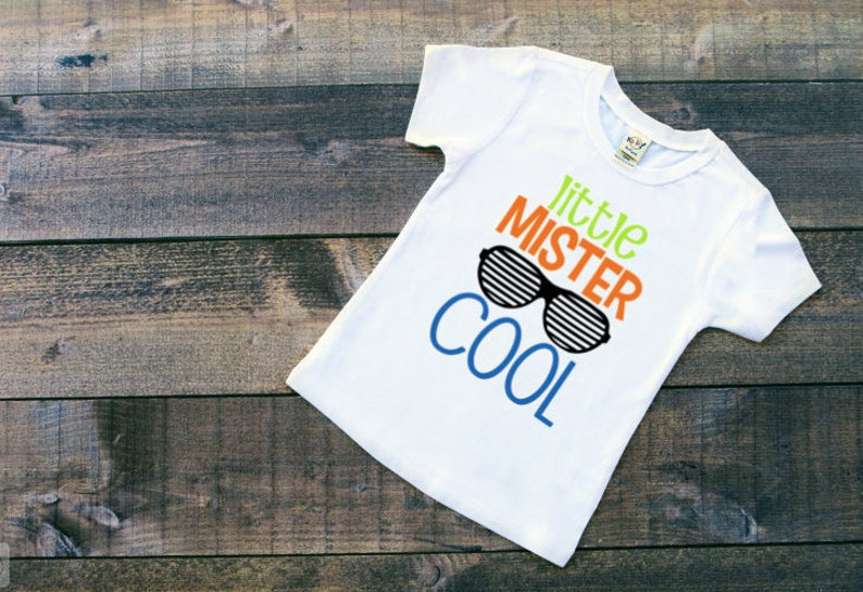 24792fca Little mister cool little boy shirt newborn boy clothes | Etsy