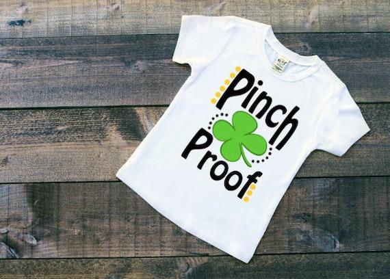 f696db2e Pinch Proof Shirt || St Patricks Day Shirt || Pinch Proof || St Patricks  Day || Boys Shirt || Girls Shirt || Funny Holiday Shirts || Vinyl